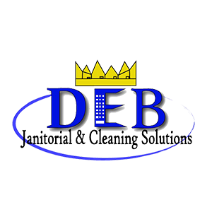 DEB Janitorial & Cleaning Logo